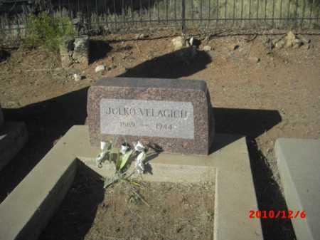 VELAGICH, JULKO - Gila County, Arizona | JULKO VELAGICH - Arizona Gravestone Photos