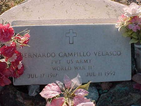 VELASCO, BERNADO CAMPILLO - Gila County, Arizona | BERNADO CAMPILLO VELASCO - Arizona Gravestone Photos