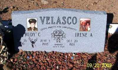 VELASCO, IRENE A. - Gila County, Arizona | IRENE A. VELASCO - Arizona Gravestone Photos