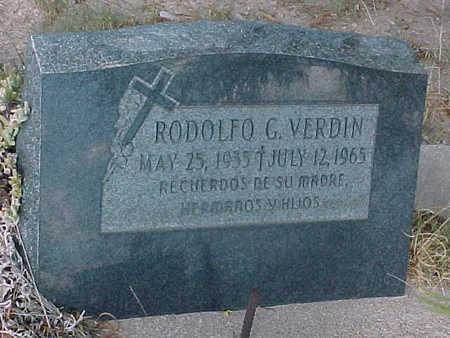 VERDIN, RODOLFO  G. - Gila County, Arizona | RODOLFO  G. VERDIN - Arizona Gravestone Photos