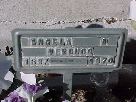 VERDUGO, ANGELA  A. - Gila County, Arizona   ANGELA  A. VERDUGO - Arizona Gravestone Photos