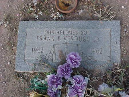 VERDUGO, FRANK B., JR. - Gila County, Arizona | FRANK B., JR. VERDUGO - Arizona Gravestone Photos