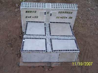 VERDUGO, MARIO G. - Gila County, Arizona | MARIO G. VERDUGO - Arizona Gravestone Photos
