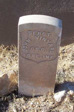 VINYARD, JOHN - Gila County, Arizona   JOHN VINYARD - Arizona Gravestone Photos