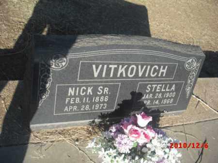 VITKOVICH, STELLA - Gila County, Arizona | STELLA VITKOVICH - Arizona Gravestone Photos