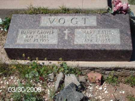 VOGT, MARY KATIE - Gila County, Arizona | MARY KATIE VOGT - Arizona Gravestone Photos