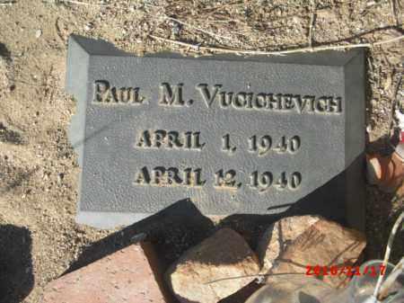 VUCICHEVICH, PAUL M. - Gila County, Arizona | PAUL M. VUCICHEVICH - Arizona Gravestone Photos
