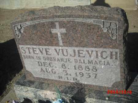 VUJEVICH, STEVE - Gila County, Arizona | STEVE VUJEVICH - Arizona Gravestone Photos