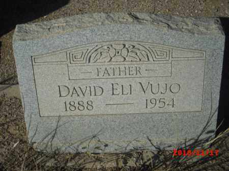 VUJO, DAVID ELI - Gila County, Arizona | DAVID ELI VUJO - Arizona Gravestone Photos
