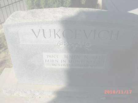VUKCEVICH, JOHN N. - Gila County, Arizona   JOHN N. VUKCEVICH - Arizona Gravestone Photos