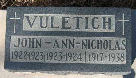 VULETICH, ANN - Gila County, Arizona | ANN VULETICH - Arizona Gravestone Photos