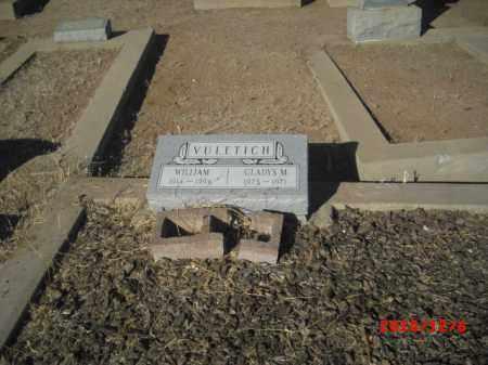 VULETICH, GLADYS M. - Gila County, Arizona | GLADYS M. VULETICH - Arizona Gravestone Photos