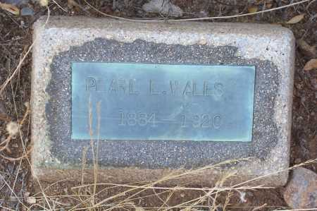 WITHERELL WALES, PEARL L. - Gila County, Arizona | PEARL L. WITHERELL WALES - Arizona Gravestone Photos