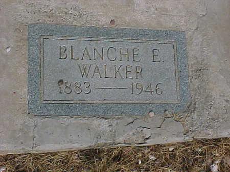 WALKER, BLANCHE  E. - Gila County, Arizona   BLANCHE  E. WALKER - Arizona Gravestone Photos