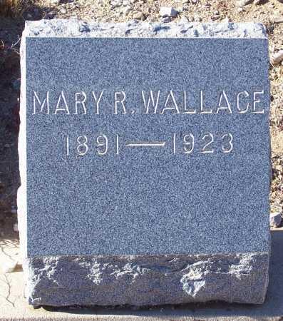 WALLACE, MARY R. - Gila County, Arizona | MARY R. WALLACE - Arizona Gravestone Photos