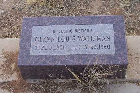 WALLIMAN, GLENN LOUIS - Gila County, Arizona | GLENN LOUIS WALLIMAN - Arizona Gravestone Photos