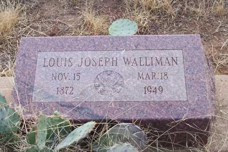 WALLIMAN, LOUIS JOSEPH - Gila County, Arizona | LOUIS JOSEPH WALLIMAN - Arizona Gravestone Photos