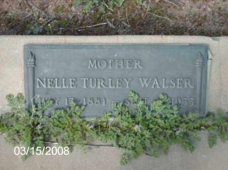 WALSER, NELLE - Gila County, Arizona | NELLE WALSER - Arizona Gravestone Photos