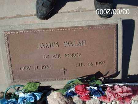 WALSH, JAMES - Gila County, Arizona | JAMES WALSH - Arizona Gravestone Photos