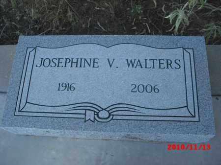 WALTERS, JOSEPHINE V. - Gila County, Arizona | JOSEPHINE V. WALTERS - Arizona Gravestone Photos