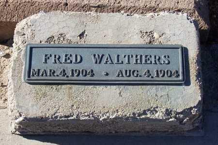 WALTHERS, FRED - Gila County, Arizona | FRED WALTHERS - Arizona Gravestone Photos