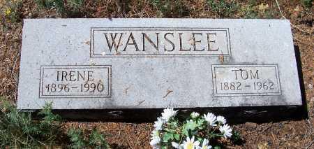 WANSLEE, TOM - Gila County, Arizona | TOM WANSLEE - Arizona Gravestone Photos