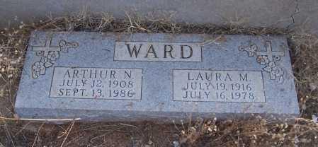 WARD, ARTHUR N. - Gila County, Arizona | ARTHUR N. WARD - Arizona Gravestone Photos