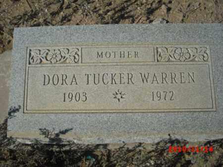 WARREN, DORA - Gila County, Arizona | DORA WARREN - Arizona Gravestone Photos
