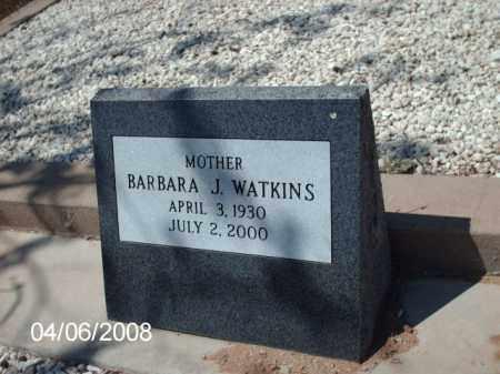 WATKINS, BARBARA  J. - Gila County, Arizona | BARBARA  J. WATKINS - Arizona Gravestone Photos
