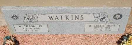 WATKINS, DELLA - Gila County, Arizona | DELLA WATKINS - Arizona Gravestone Photos