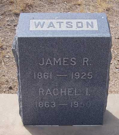 WATSON, RACHEL I. - Gila County, Arizona   RACHEL I. WATSON - Arizona Gravestone Photos