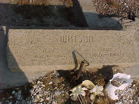 WATSON, JESSE - Gila County, Arizona | JESSE WATSON - Arizona Gravestone Photos