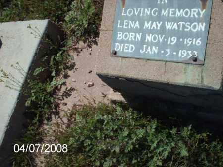 WATSON, LENA MAY - Gila County, Arizona   LENA MAY WATSON - Arizona Gravestone Photos