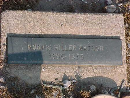 WATSON, MORRIS  MILLER - Gila County, Arizona | MORRIS  MILLER WATSON - Arizona Gravestone Photos