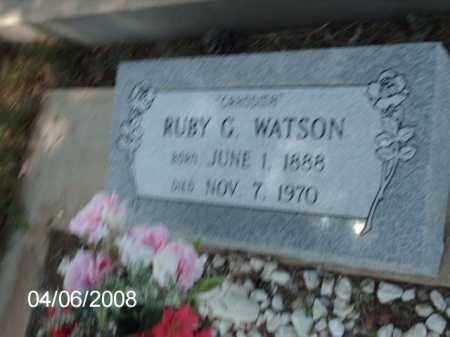 WATSON, RUBY G. - Gila County, Arizona   RUBY G. WATSON - Arizona Gravestone Photos