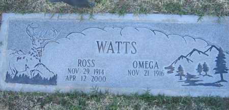 WATTS, ROSS - Gila County, Arizona | ROSS WATTS - Arizona Gravestone Photos