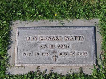 WATTS, RAY EDWARD - Gila County, Arizona   RAY EDWARD WATTS - Arizona Gravestone Photos