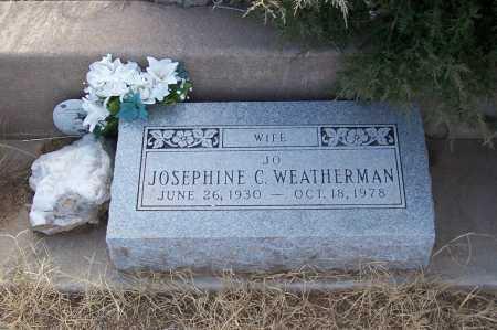 WEATHERMAN, JOSEPHINE C. - Gila County, Arizona | JOSEPHINE C. WEATHERMAN - Arizona Gravestone Photos