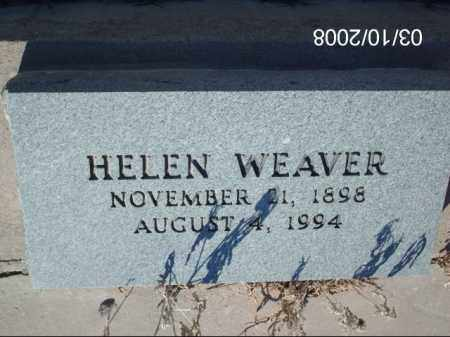 WEAVER, HELEN - Gila County, Arizona | HELEN WEAVER - Arizona Gravestone Photos