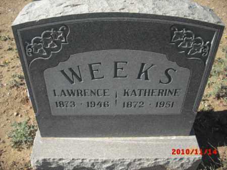 WEEKS, KATERINE - Gila County, Arizona | KATERINE WEEKS - Arizona Gravestone Photos