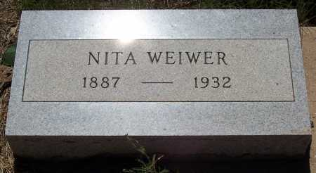 WEIWER, NITA - Gila County, Arizona | NITA WEIWER - Arizona Gravestone Photos