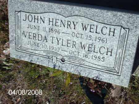WELCH, JOHN HENRY - Gila County, Arizona | JOHN HENRY WELCH - Arizona Gravestone Photos