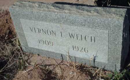 WELCH, VERNON L. - Gila County, Arizona   VERNON L. WELCH - Arizona Gravestone Photos