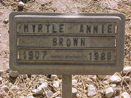 RAGSDALE WELKER, MYRTLE  ANNIE - Gila County, Arizona | MYRTLE  ANNIE RAGSDALE WELKER - Arizona Gravestone Photos
