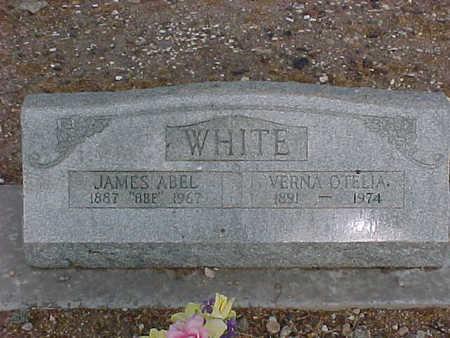 WHITE, VERNA OTELIA - Gila County, Arizona | VERNA OTELIA WHITE - Arizona Gravestone Photos