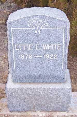 HAWKINS WHITE, EFFIE EDITH - Gila County, Arizona | EFFIE EDITH HAWKINS WHITE - Arizona Gravestone Photos