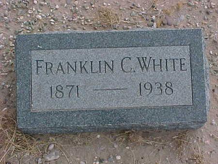 WHITE, FRANKLIN  C. - Gila County, Arizona | FRANKLIN  C. WHITE - Arizona Gravestone Photos