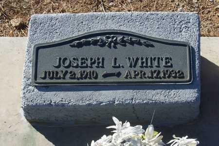 WHITE, JOSEPH L. - Gila County, Arizona   JOSEPH L. WHITE - Arizona Gravestone Photos