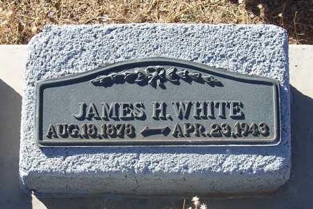 WHITE, JAMES H. - Gila County, Arizona | JAMES H. WHITE - Arizona Gravestone Photos