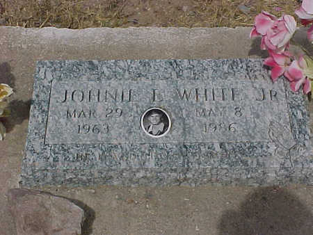 WHITE, JOHNIE  E., JR. - Gila County, Arizona | JOHNIE  E., JR. WHITE - Arizona Gravestone Photos